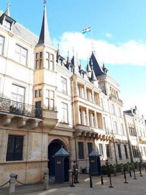 Le palais Ducal à Luxembourg Ville