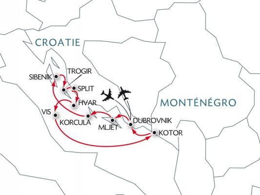 Carte croisière